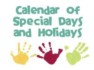 special-days-and-holidays