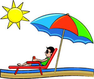 cartoon_man_relaxing_while_on_vacation_at_the_beach_0515-1011-1516-2024_SMU